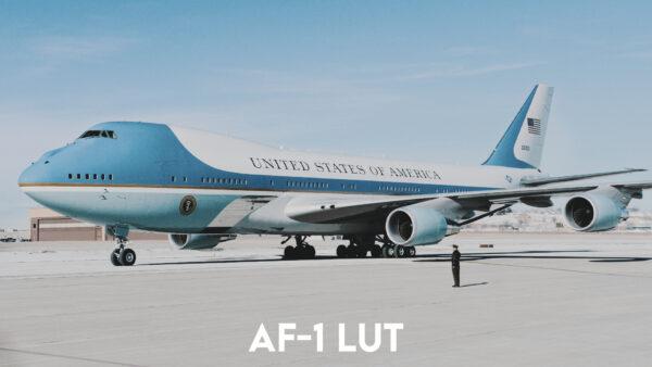 Aviator LUT Pack: AF-1 LUT Example 1
