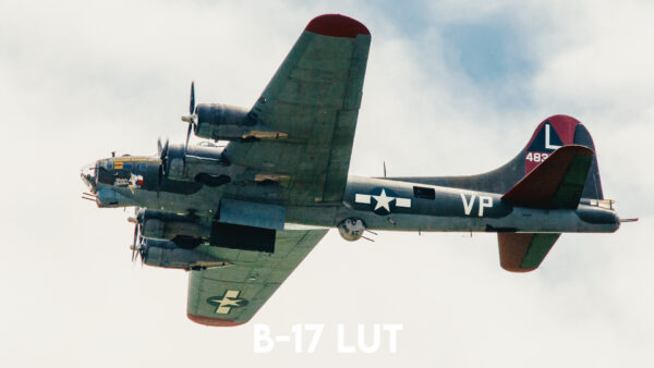 Aviator LUT Pack: B-17 LUT Example 1