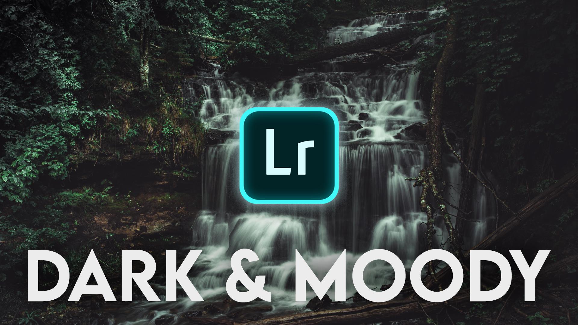 Dark & Moody Lightroom Mobile Tutorial