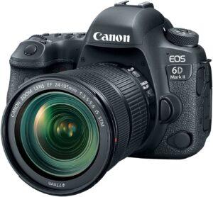 canon 6d mkii dslr midrange $1000 camera