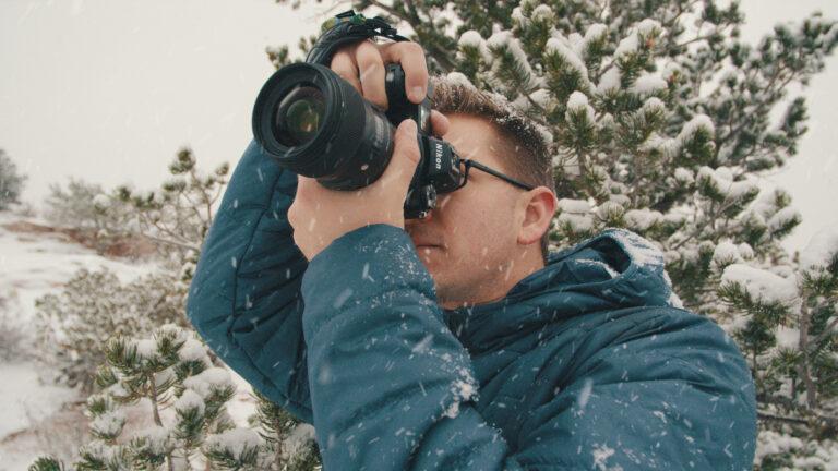 winter snow photography run and gun tips and tricks jt tutorial