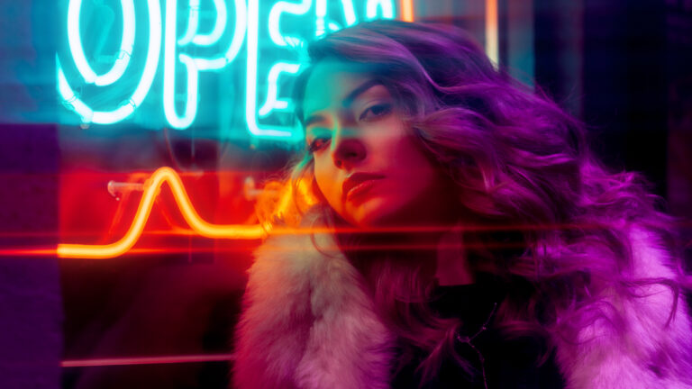 Neon Portrait Photography Tips Tricks Run N Gun