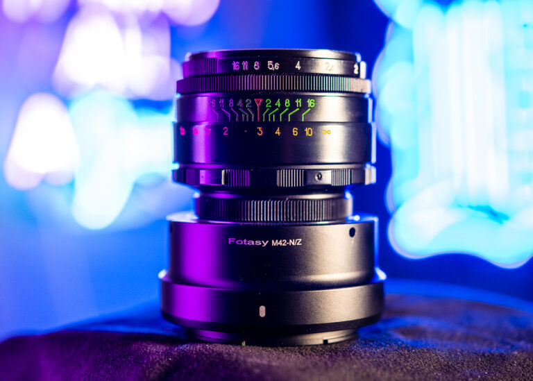 Helios 44-2 lens review 58mm f/2 runngun fotasy m42 Nikon z Adapter